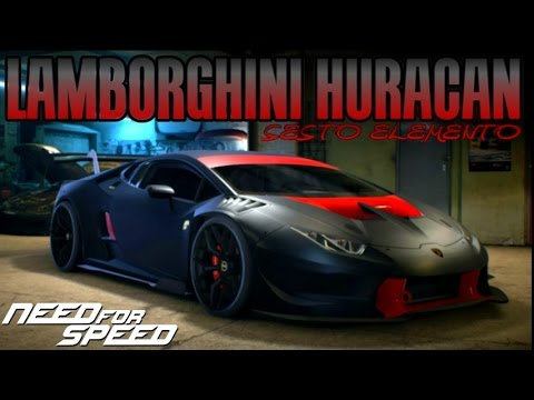 need for speed 2015 lamborghini huracan sesto elemento. Black Bedroom Furniture Sets. Home Design Ideas