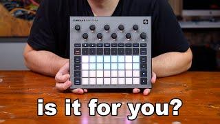 CIRCUIT RHYTHM REVIEW & tutorial // Explaining Novations New Sampler & Groovebox