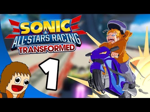Sonic & All Stars Racing Transformed: Danica Patrick's Wild Ride - Part 1