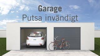 Garage - Putsa invändigt