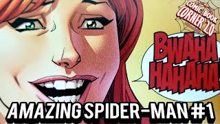 Amazing Spider-Man #1 | Hey MJ! are you getting back with Peter?!