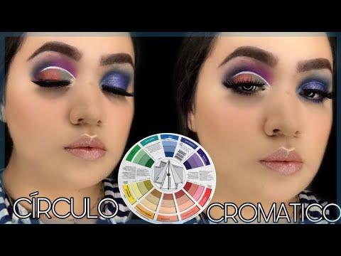 Como Combinar Las Sombras De Maquillaje Con El Circulo Cromatico 2020 Youtube