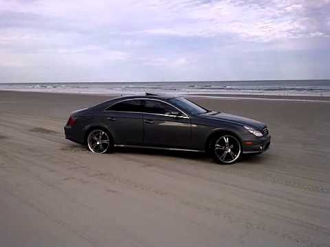 cls 500 amg beach donuts youtube. Black Bedroom Furniture Sets. Home Design Ideas