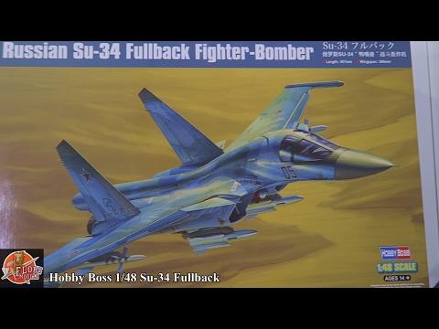 Hobby Boss 1/48th Su-34 Fullback review