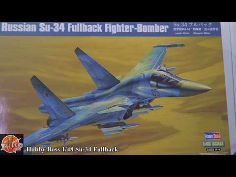 Hobby Boss 1/48th Su-34 Fullback review