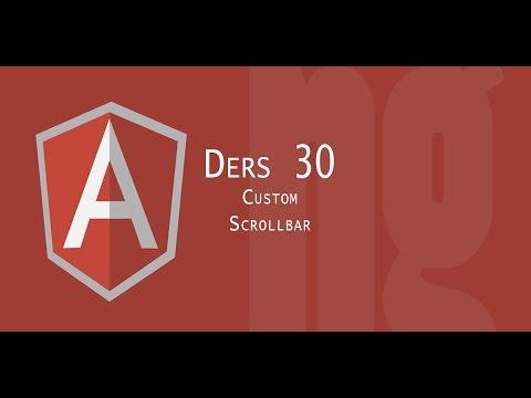 Angular Tutorial | 30 Custom Scrollbar