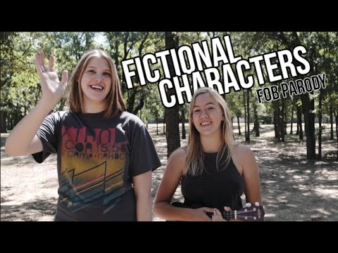 Fictional Characters (Fandom Fall Out Boy Parody)