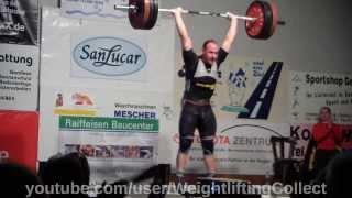 Kevin Schweizer KSV Durlach Bundesliga Gewichtheben 2014 03 08