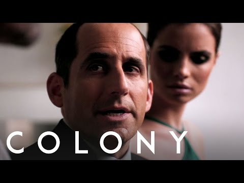 Colony on USA Network  Peter Jacobson  Behind the s