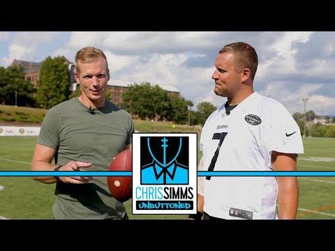 Ben Roethlisberger on throwing mechanics, offseason practice | Chris Simms Unbuttoned | NBC Sports