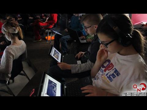 Music Technology Class at John Thomas School of Discovery, QuickNews TV, 2017