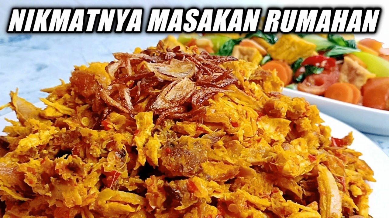 Masak 2 Menu Enak & Bergizi (Resep Ayam Suwir Super Lezat & Tumis Pakcoy)