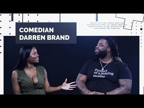 Darren Brand On Leaving Wild 'N Out , Stand-Up Comedy, & Classic Black Sitcoms | The Come Up EP. 2