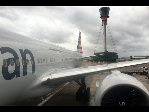 American Airlines | 777-300ER | LHR-DFW | Business