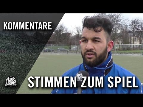 Die Stimmen zum Spiel (SV Griesheim Tarik - FV 1920 Hausen, Kreisoberliga Frankfurt) | MAINKICK.TV