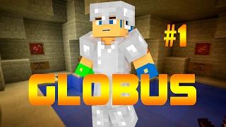 Dansk Minecraft - GLOBUS | MEGA GOD HYTTE! | #1