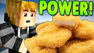 THE POWER OF CHICKEN NUGGETS..! (Hypixel)