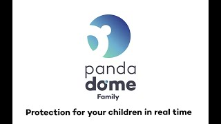 Panda Dome Family - Protect your children from the dangers of the Internet