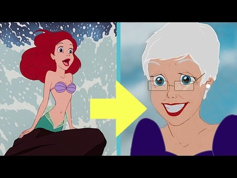 Thumbnail: What Disney Princesses Look Like In Their Old Age