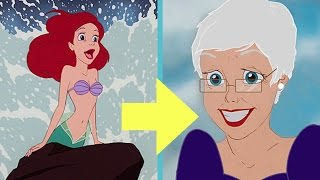 What Disney Princesses Look Like In Their Old Age