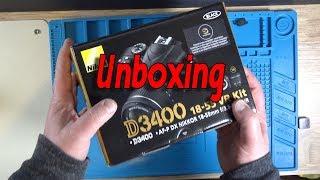 Nikon D3400 Unboxing