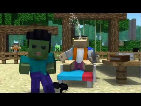 Minecraft Style- A Parody of PSY Gangnam Style Official Music Video