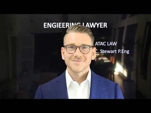 Mike C. Stewart, P.Eng - The Engineering Lawyer
