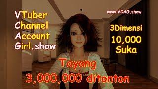 (Bahasa Indonesia) VTuber Account Girl 《On Air》 (4KHD Trailer) Virtual