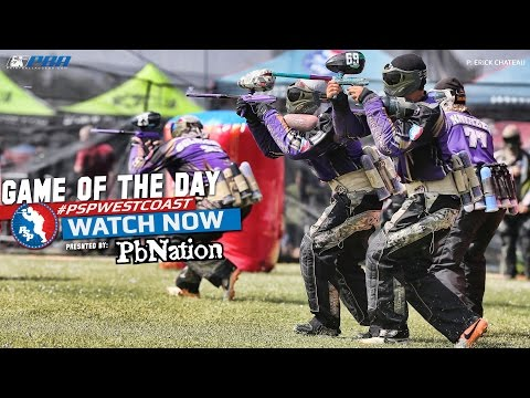 2014 PSP West Coast Paintball Game of the Day - ART CHAOS vs Moscow Red Legion