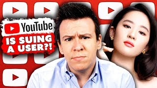 WOAH! Youtube is Suing A Copyright Troll, Mulan Boycott, & China Ramps Up Misinformation Campaign