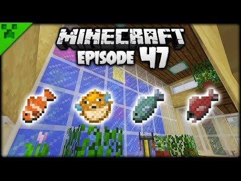 Making A Minecraft 1.13 AQUARIUM! | Python's World (Minecraft Survival Let's Play) | Episode 47