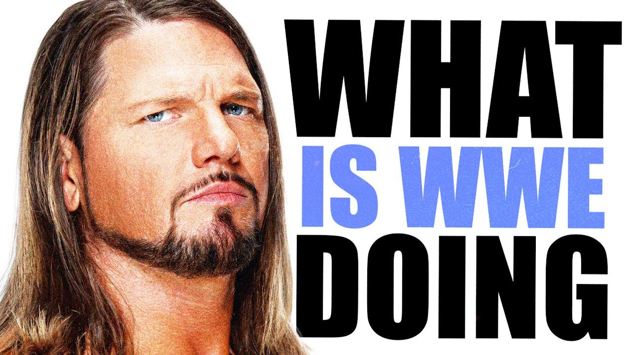 Download WWE is wasting AJ Styles