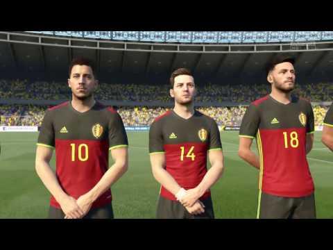 FIFA 17 Brazil vs  Belgium PS4 [720p]