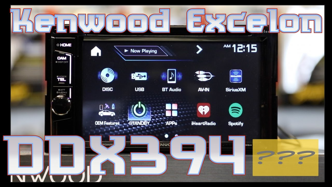 the kenwood excelon ddx394 unboxing and review [ 1280 x 720 Pixel ]