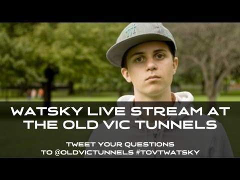 WATSKY LIVE at The Old Vic Tunnels
