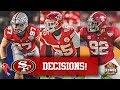 LIVE! 49ers Free Agency Picks & Effect On Draft - Nick Bosa vs Quinnen Williams