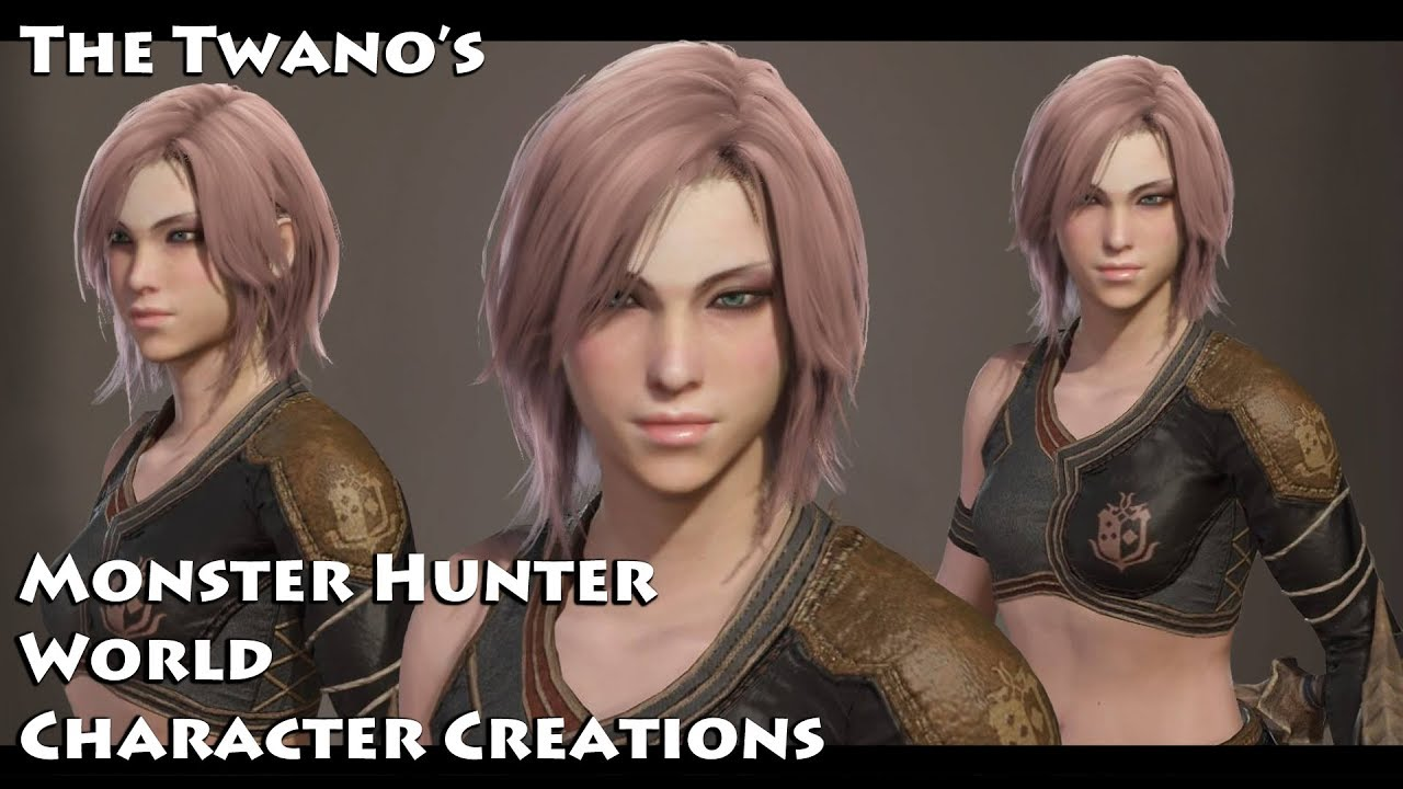 Monster Hunter World - Character Creation (Cute Female) #7 ... | 1280 x 720 jpeg 119kB