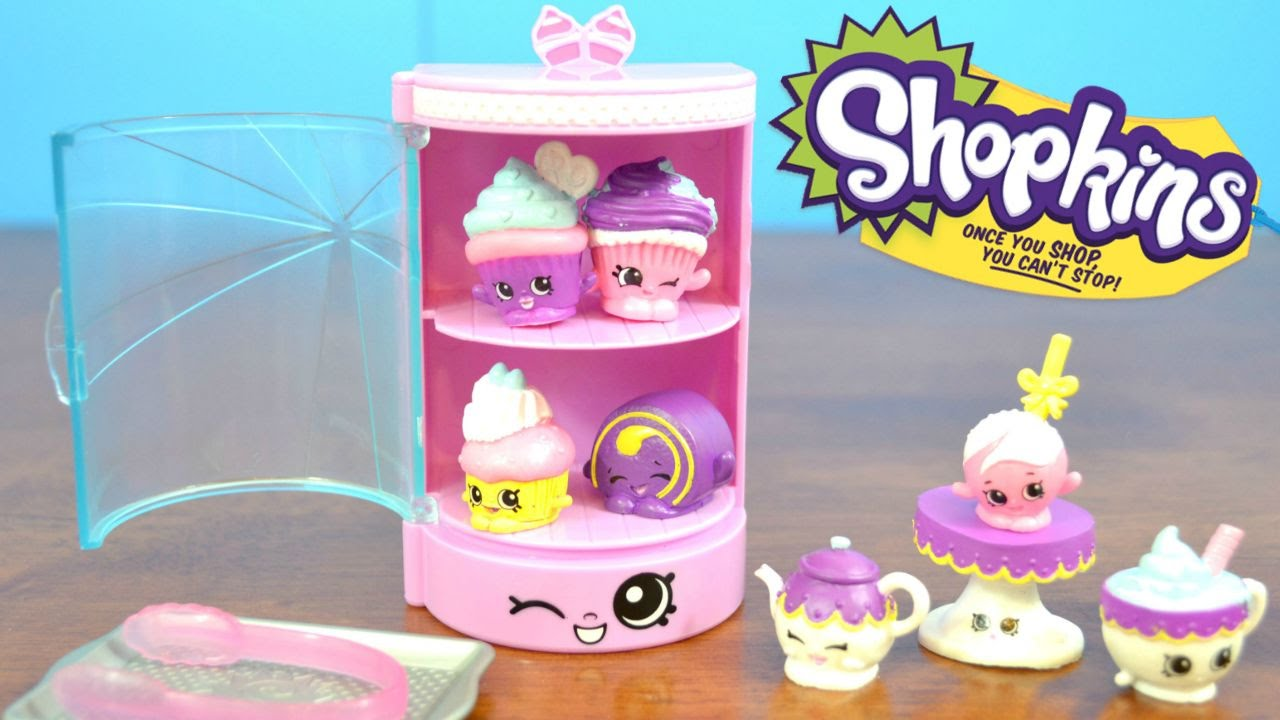 Shopkins Season 3 Food Fair Cupcake Collection With Sweet Treats And Exclusive