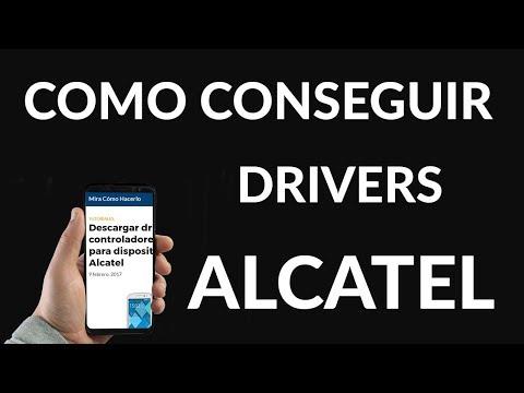 Descargar Drivers o Controladores USB para Dispositivos Alcatel