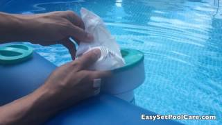 Best Way To Keep Water Clean and Clear Intex EasySet Pool Chorinate
