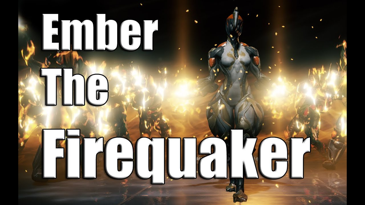 warframe how to build ember