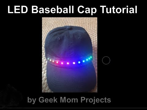 Programmable LED Hat Tutorial - YouTube f71dfc9ec7fe