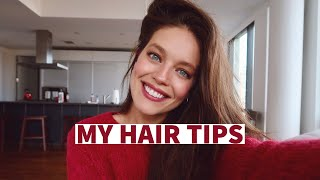 My Tips For Healthy + Full Hair |  Haircare with Model Emily DiDonato