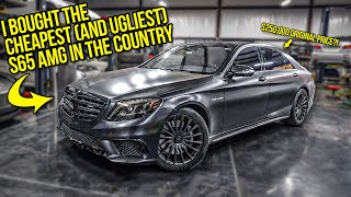 I Bought An UGLY Mercedes S65 AMG For $200k Off Its Original Price (And Here's What's Wrong With It)
