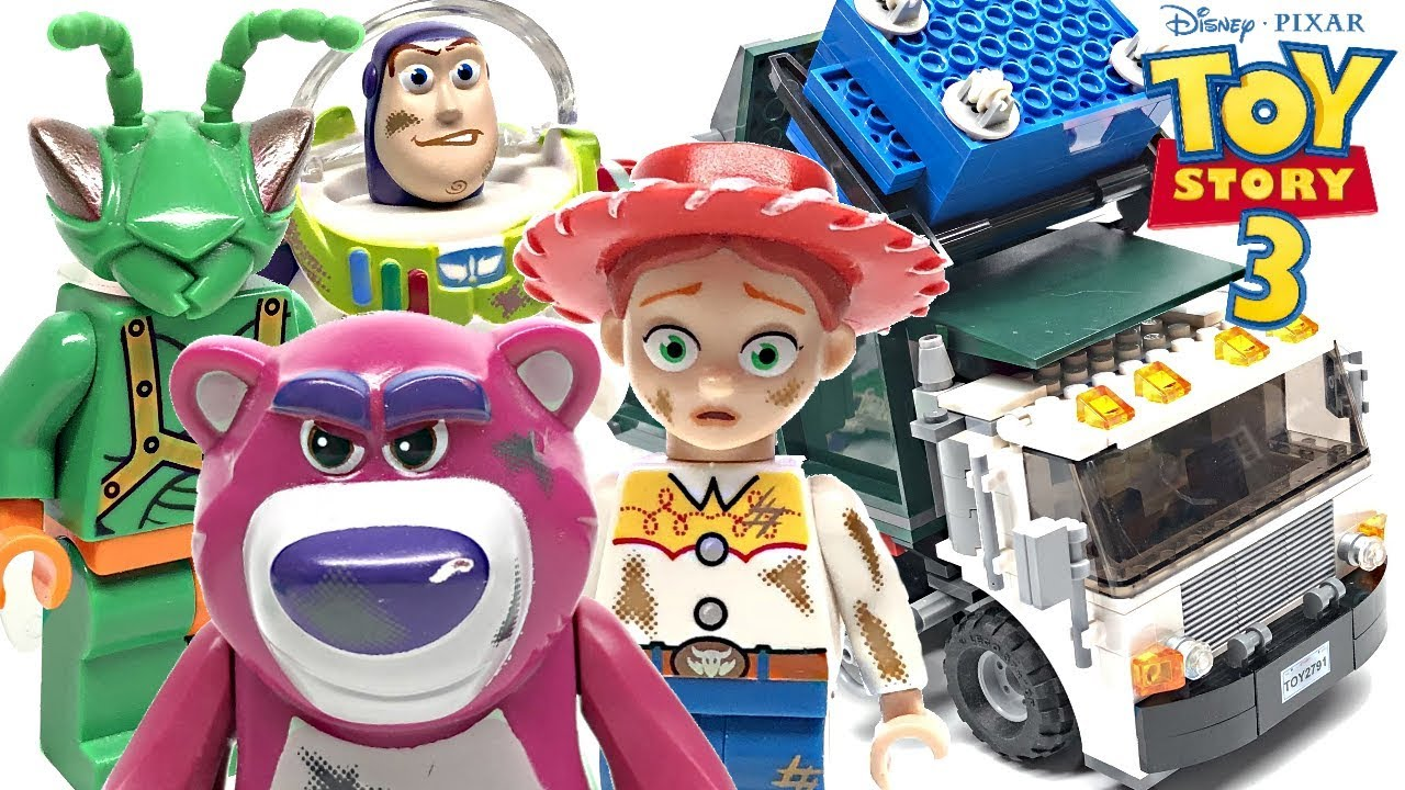 Download LEGO Toy Story 3 Garbage Truck Getaway review! 2010 set 7599!