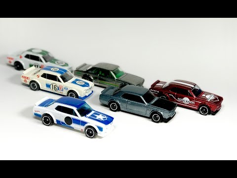 Lamley Showcase: Hot Wheels Nissan Skyline H/T 2000GT-X - all releases!