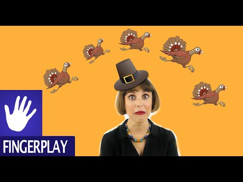 Thanksgiving Songs for Kids  Five Little Turkeys  Alina Celeste