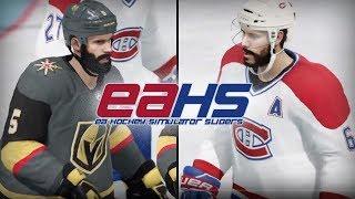 NHL™ 18 season | Golden Knights v.s. Canadiens | EAHS sliders 1.0