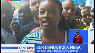 SGR demonstrations rock Mombasa