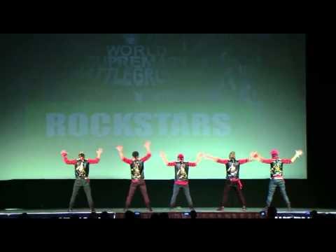 ROCKSTAR (2ND PLACE - SILVER MEDALIST) @ WORLD SUPREMACY BATTLEGROUND 2013